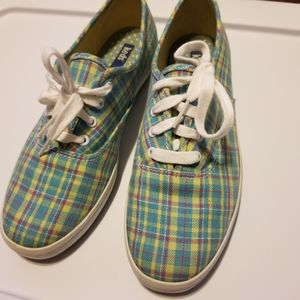 KEDS PLAID multicolor blue yellow red 7